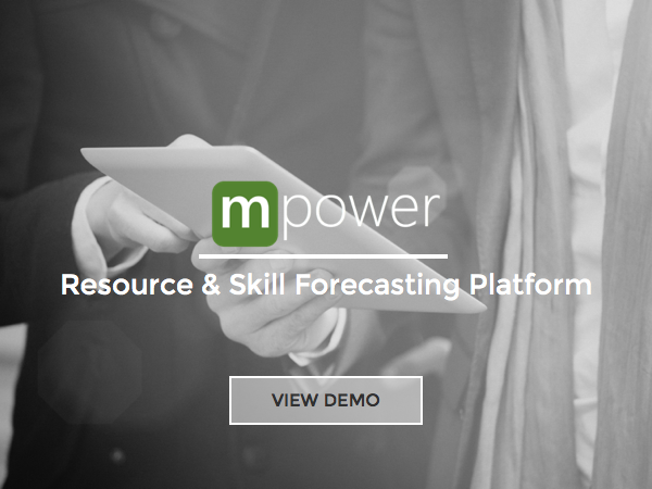 Get early visibility, and drive a more accurate skill level forecast to aid demand/supply balancing